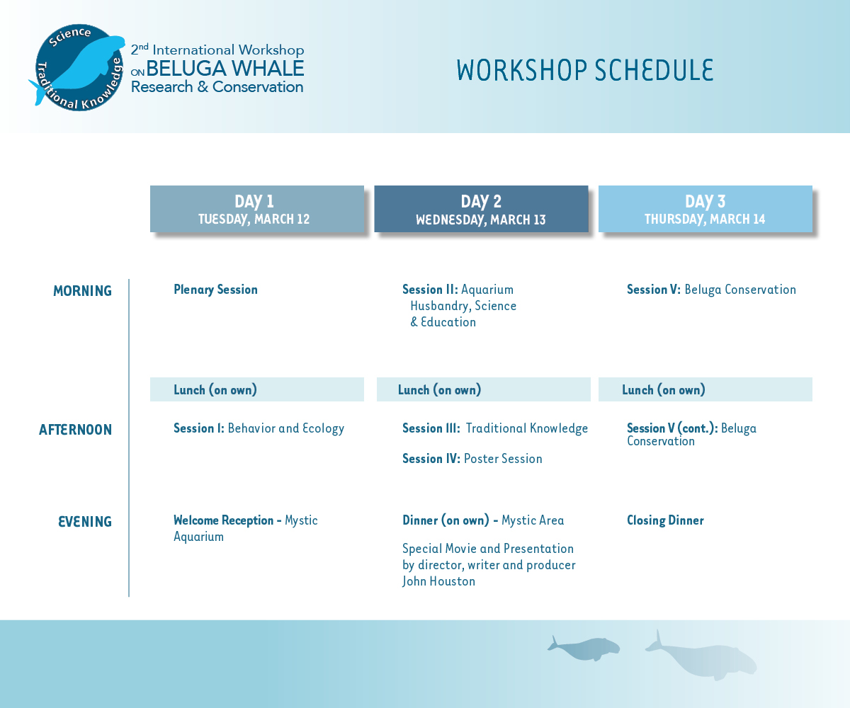 Beluga Conference Schedule