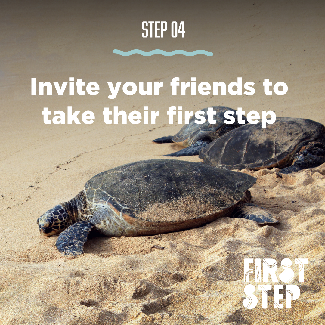 Step 4 Invite Your Friends To Take Their First Step