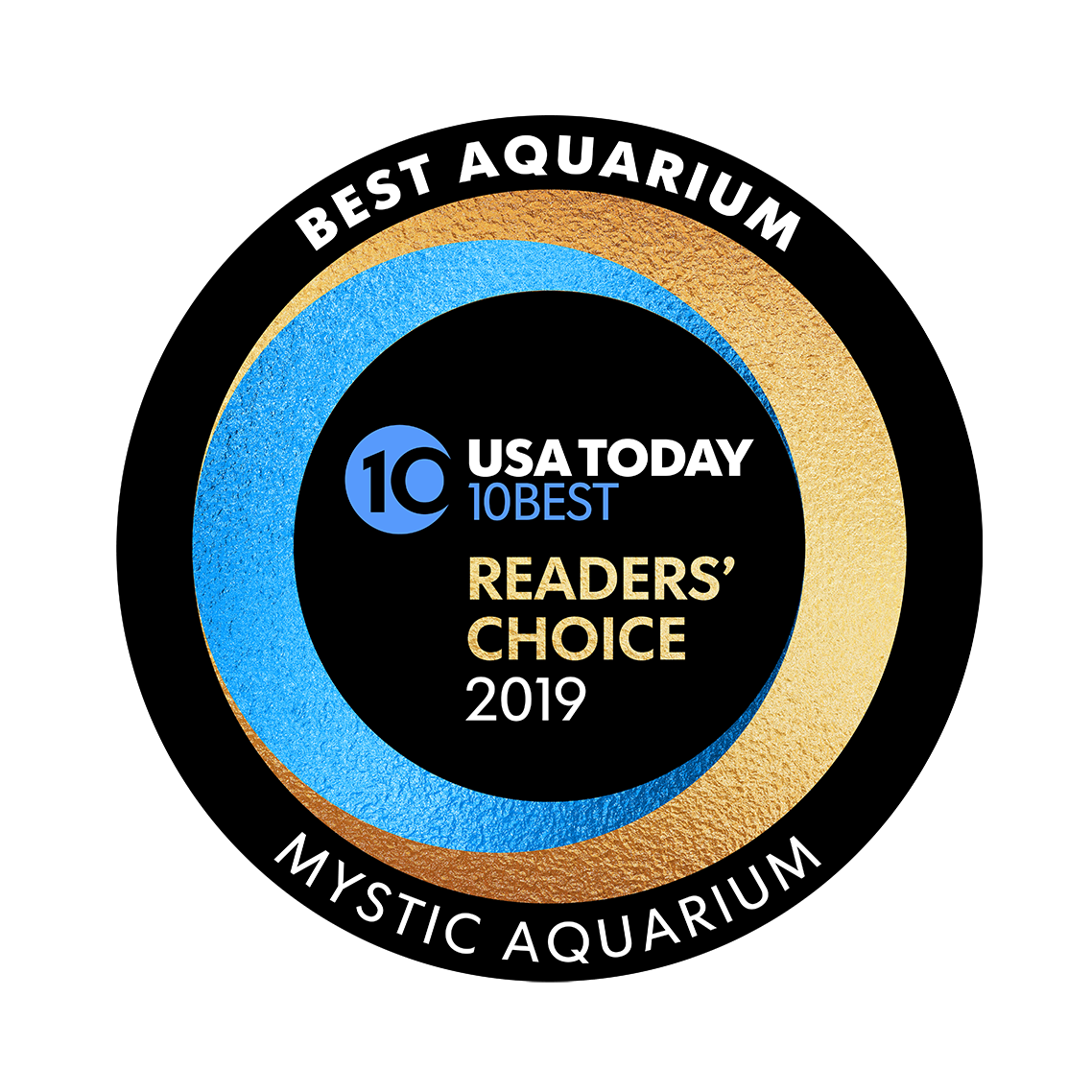 Best Aquarium 2019 badge