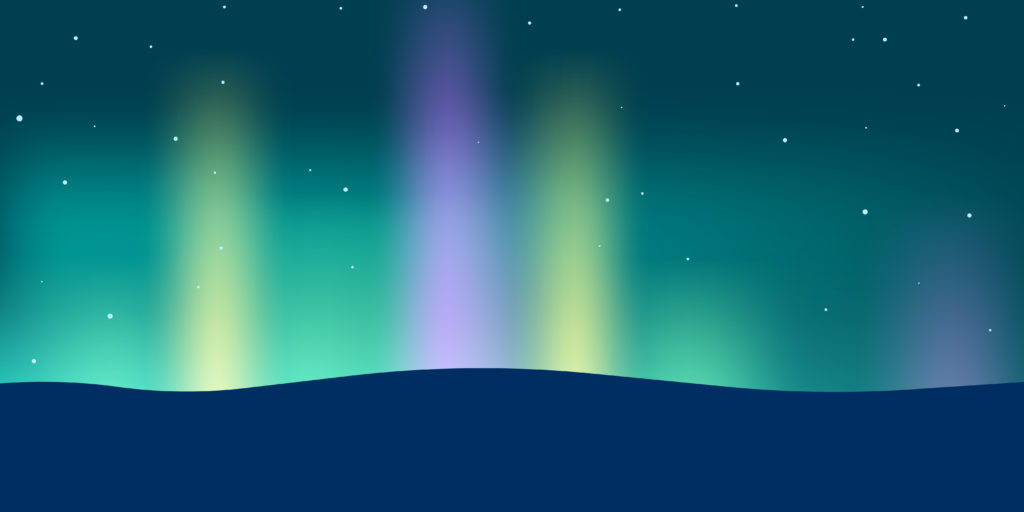 northern lights header