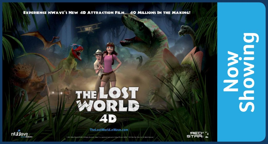 Lost World Promo Graphic