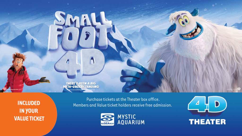 4D Theater Being Dolpin and Smallfoot Promo Image